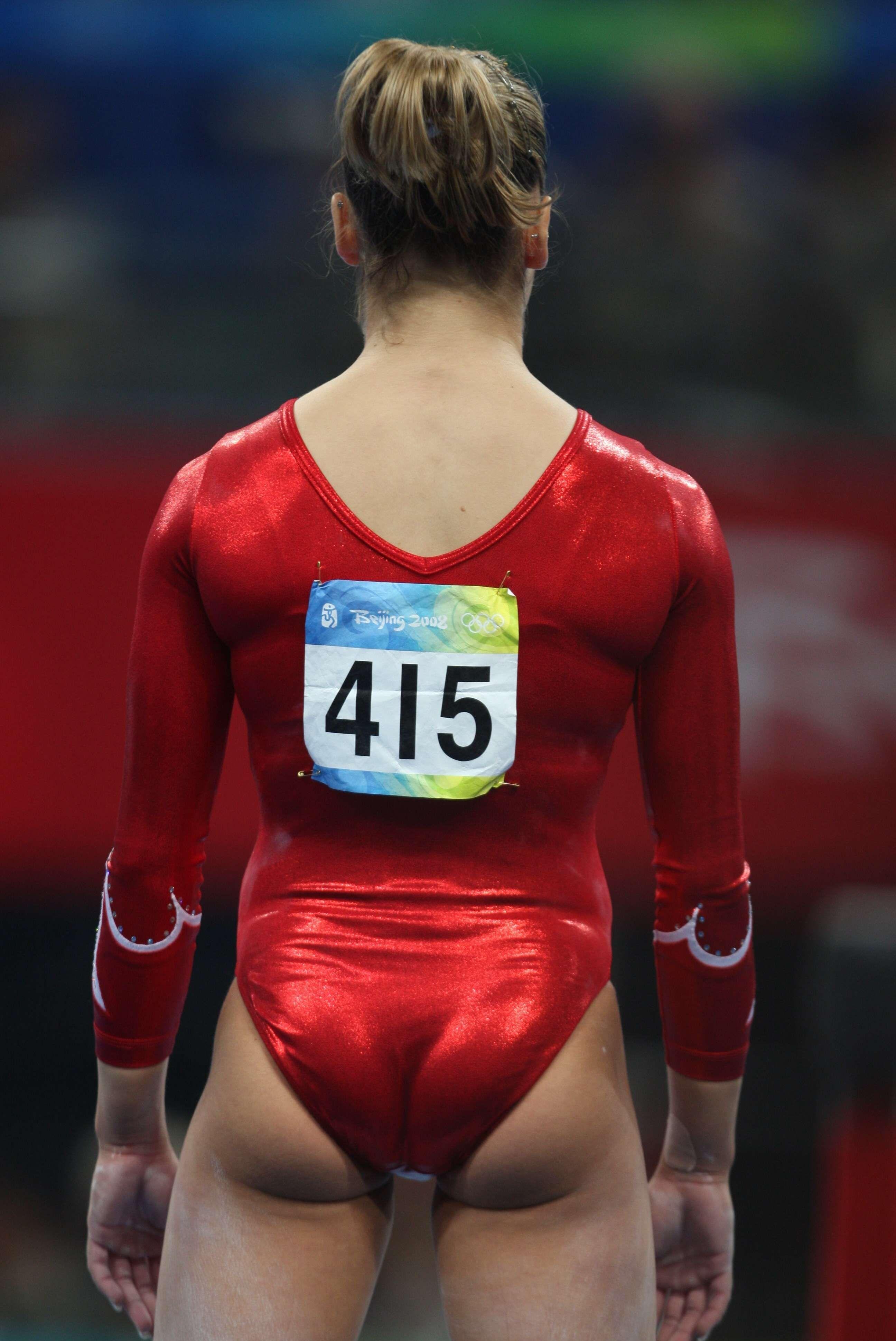 Womens Gymnastic Butt 17