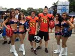 Pats Cheerleaders visit China