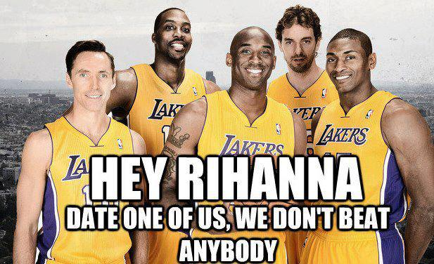 The lakers suck